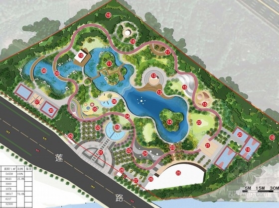 [苏州]现代生态体育公园景观规划设计方案