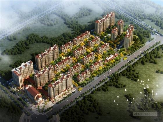 [河南]托斯卡纳风格住宅小区规划设计方案文本(含住宅及幼儿园cad)