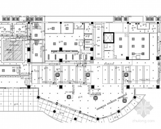 VAV空调系统设计说明资料下载-[江西]小型办公楼VRV空调系统设计施工图(空调配电)