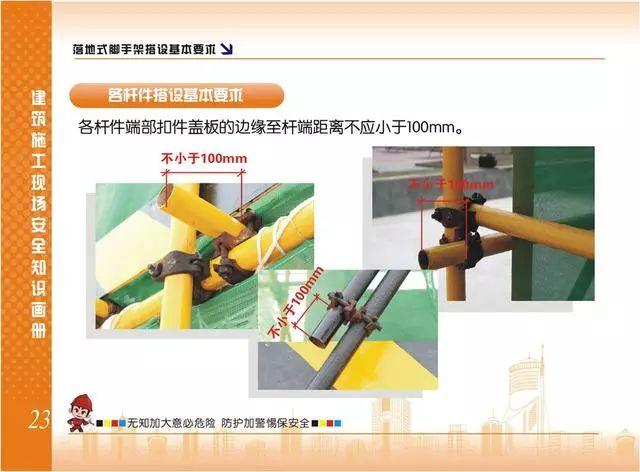 施工现场脚手架搭设标准规范做法画册,实用!_23