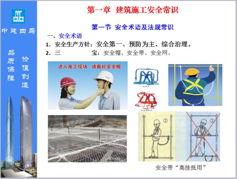 [中建四局]建筑业务工人员岗前培训
