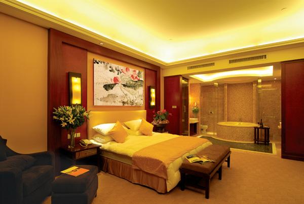 绍兴五星级园林酒店施工图(含实景)-复式套房实景图
