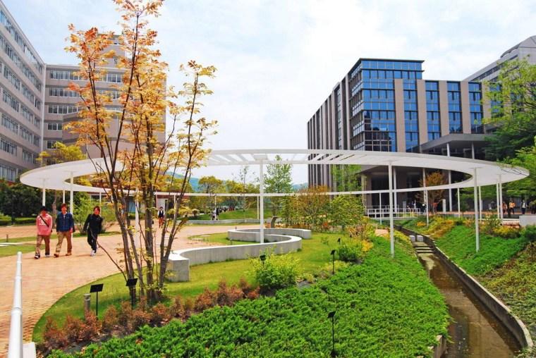九州产业大学景观