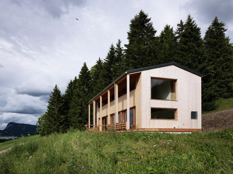 简单纯粹的望湖MW住宅