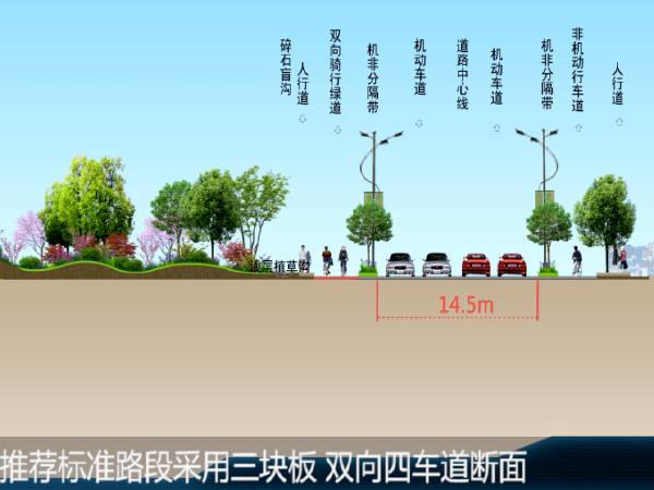 """""""海绵城市生态宜居家园""""市政道路工程方案设计三维动画演示15分钟(高清无水印)"""