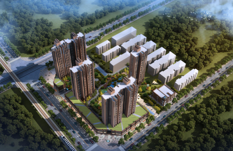 [河南]郑州某居住小区规划方案设计文本