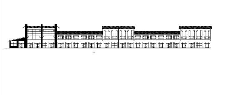 [宁夏]三层框架结构沿街商业建筑施工图(含全专业图纸)