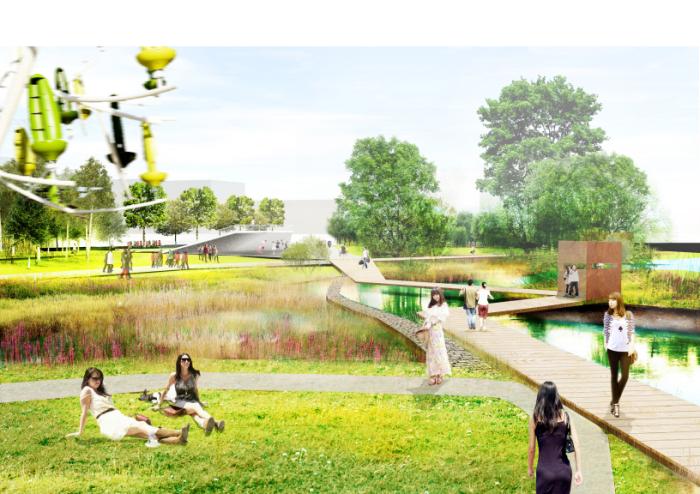 [上海]海绵城市雨水回收公园景观深化设计方案文本(2016年)