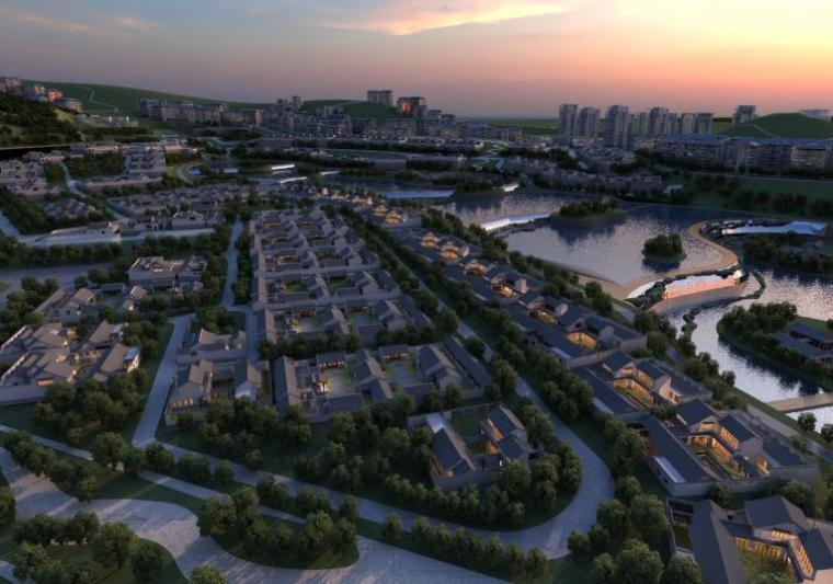 [贵州]山水人居文化旅游城市景观概念规划设计方案(2016年最新)