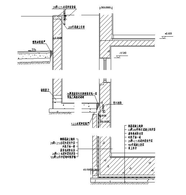 [合集]上百套知名设计院CAD设计院通用大样图节点详图
