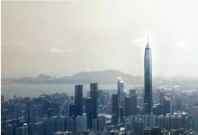 超强总结660米的平安金融中心大厦的14项关键施工技术