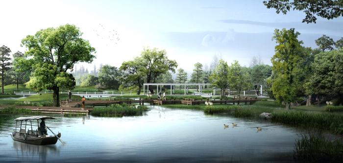 全套生态农业旅游庄园景观规划设计方案