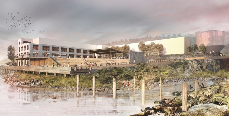 美国瀑布水岸步道总体规划