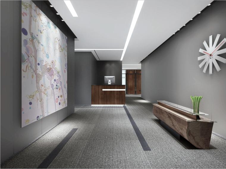 某新闻大厦办公楼设计方案效果图(含3D模型)_1