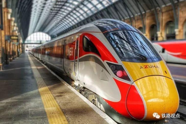 日本Azuma高速列车在英国开始运营