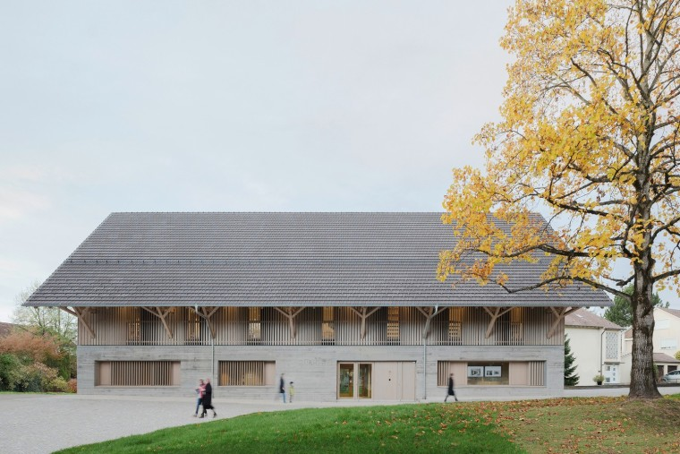 擁有歷史感的谷倉秒變簡潔雅致的圖書館——德國改造Steimle Arch