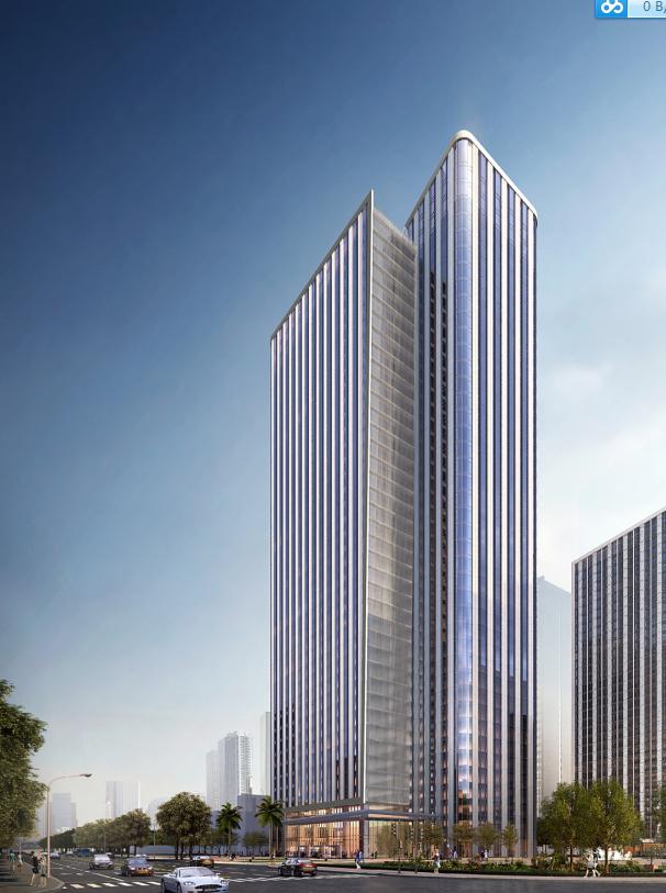 [武汉]保利高层住宅及超高层办公楼建筑方案文本(两套方案)_3