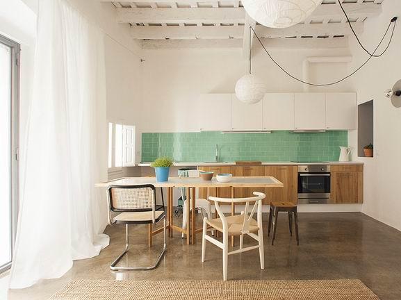 1_副本-巴塞罗那清新简约公寓第1张图片