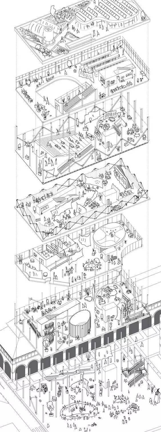 """脱了!建筑分析图怎么""""脱""""?_22"""