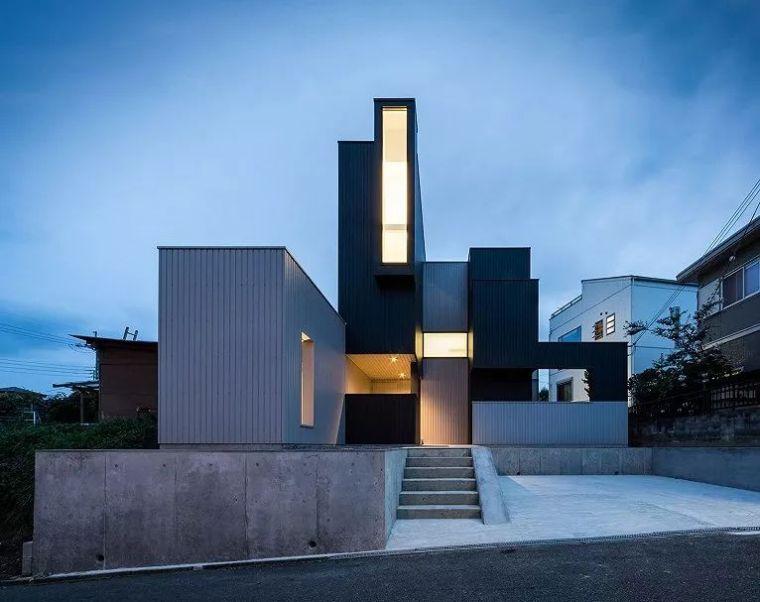 巧妙开窗创造丰富的生活空间,日本滋贺景观住宅