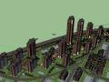 [北京]高层居住区英国阿特金斯SU建筑模型