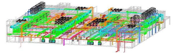 BIM应用助力阿里巴巴北方最重要基础设施