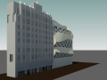 BIM模型-revit模型-高层办公楼