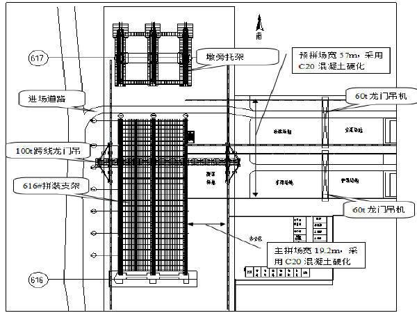 黄河大桥刚性悬索加劲连续钢桁梁变截面导梁多点顶推法安装方案57页