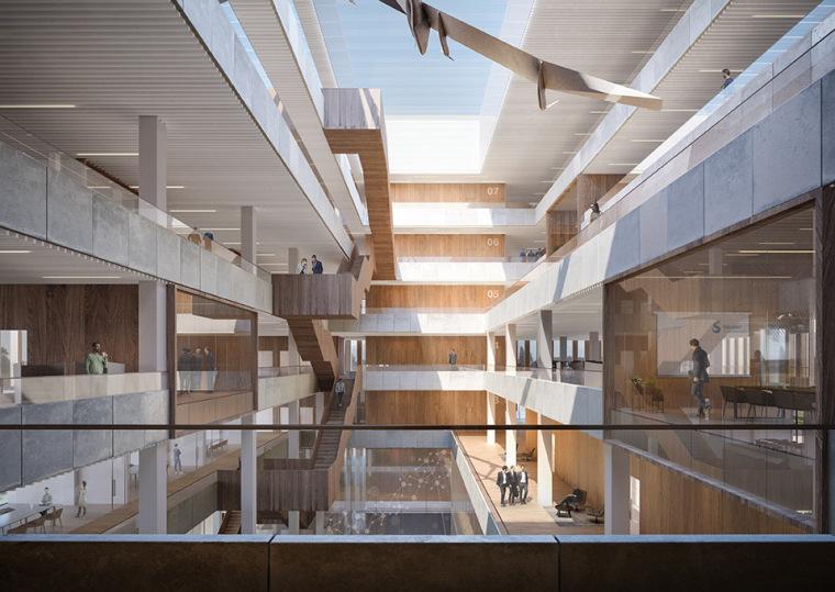 比利时可持续的Solvay国际办公总部-8