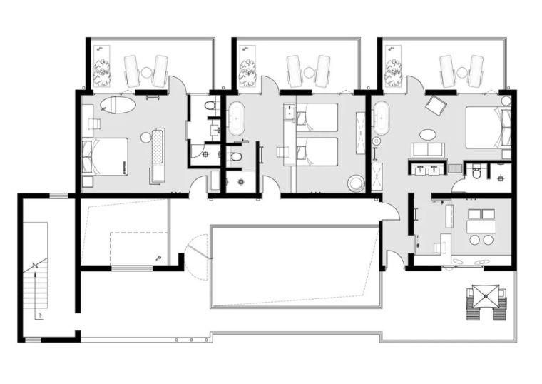 水泥厂改造成民宿,自然简约的设计就是这么美_41