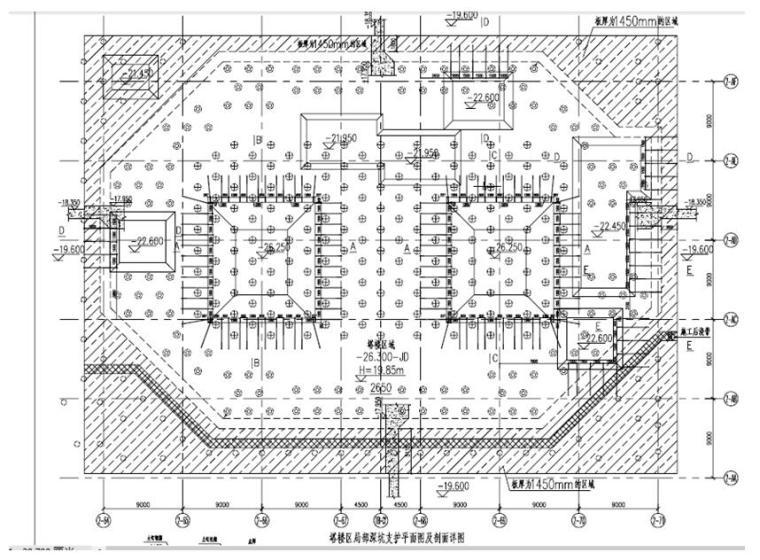 [天津]超高层双子塔项目塔楼局部深坑区土钉墙施工方案
