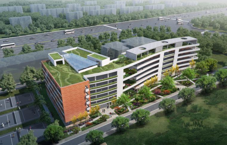[广东]光明新区高级中学初中部改扩建设计方案文本