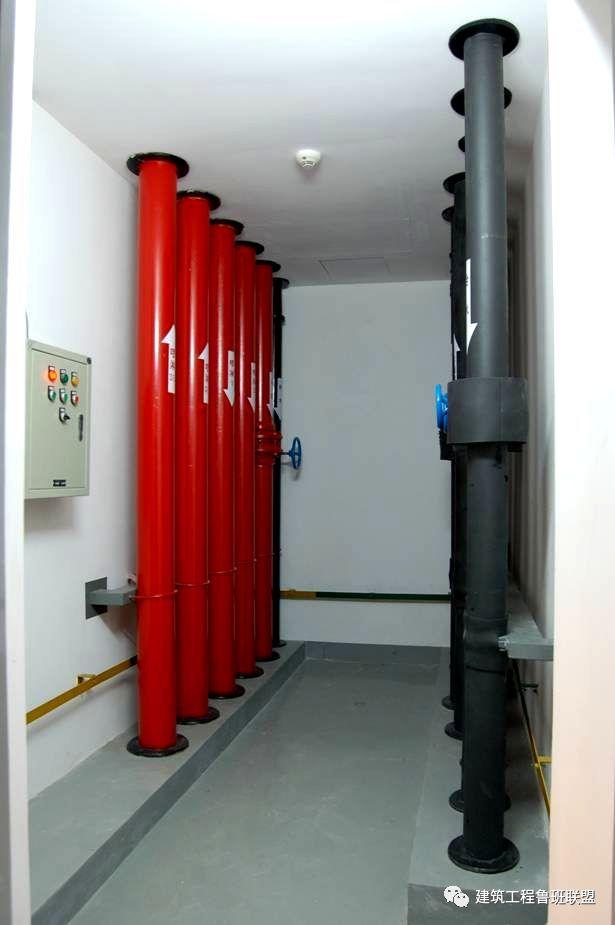 赏析优质水电竖井安装工程,其精细化的施工效果实在养眼!