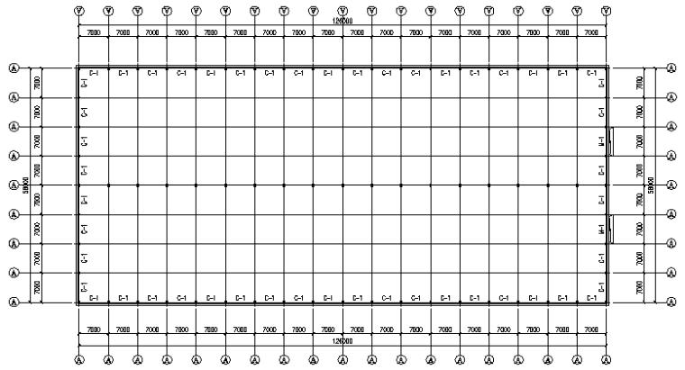 中辉工程126mx56m刚架结构施工图_5