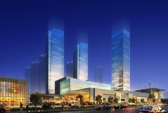 城市综合体项目创优实施计划(含流程图)