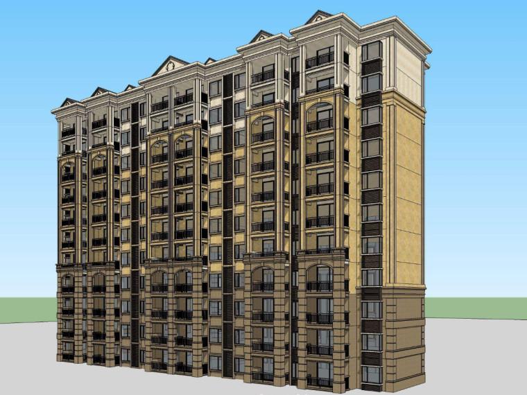 建筑物的组成及高层结构造价专业毕业论文(20页)