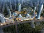 [合集]3套现代风格大型城市综合体设计方案文本(含CAD、景观)