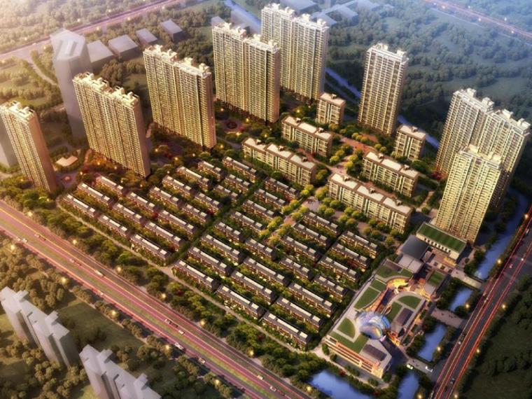 [苏州]天华苏南万科湖西玲珑居住区建筑设计方案文本