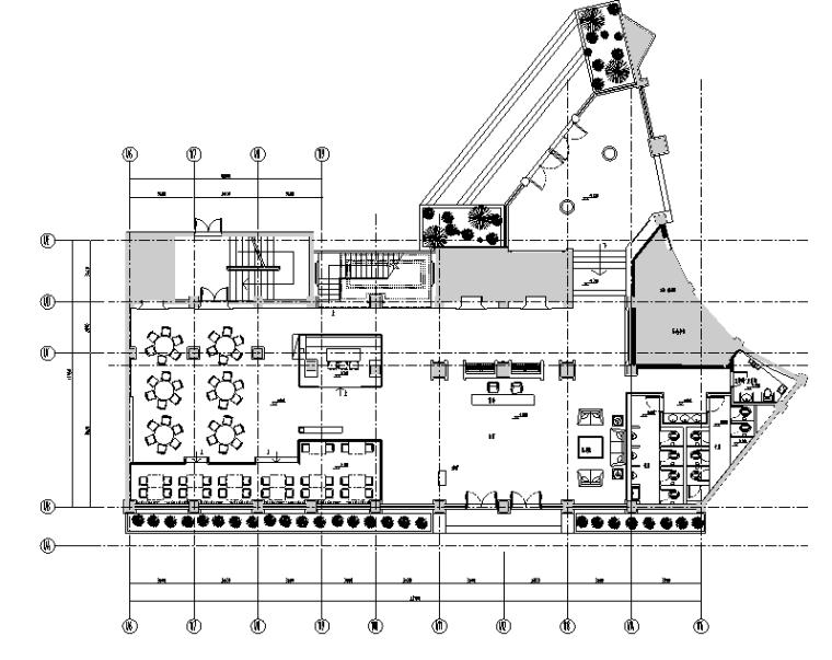 现代风格假日酒店设计施工图(附效果图)