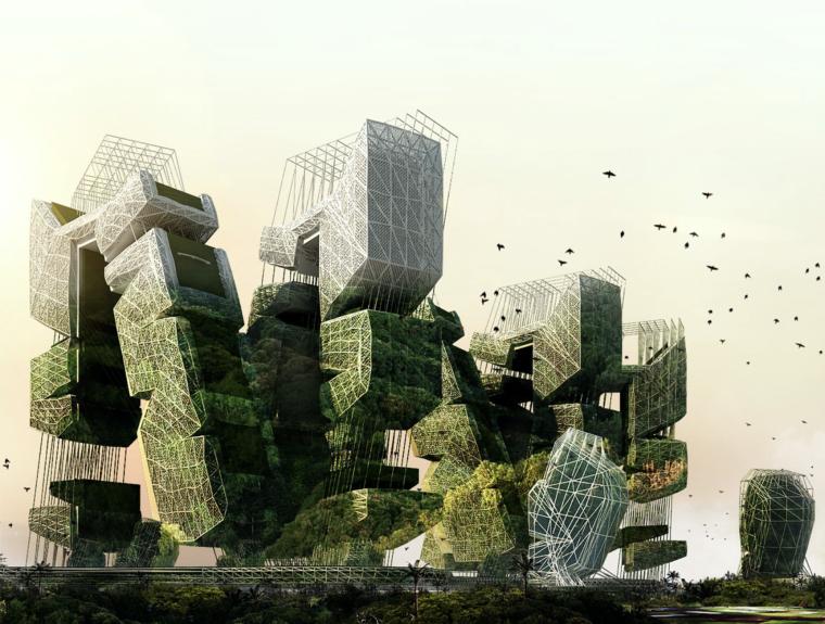 2010摩天大楼设计竞赛eVoloSkyscraperCompetition获奖作品