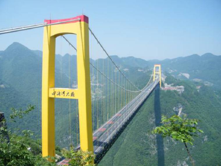 [湖北]钢桁架悬索特大桥企业自创新技术