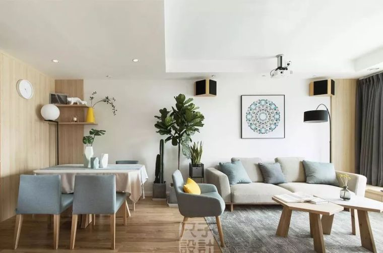 u型厨房橱柜尺寸资料下载-最全家居装修设计尺寸详解,客厅餐厅卧室都齐了!