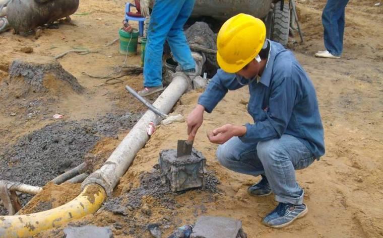 长螺旋钻孔泵送超流态砼后置钢筋笼灌注桩施工工艺及工法