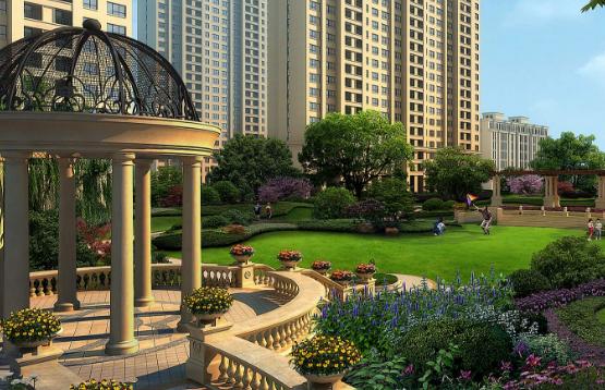 世界5大别墅庭院设计风格-法式庭院