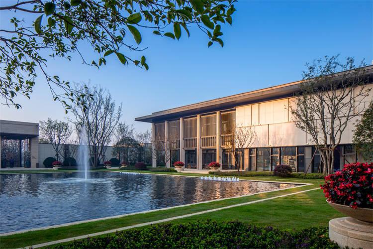 苏州鲁能公馆新中式住宅景观