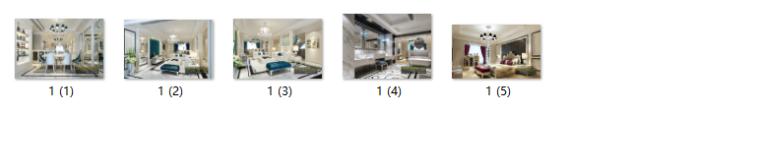 【山西】美式风格跃层公寓设计CAD施工图(含效果图)_9