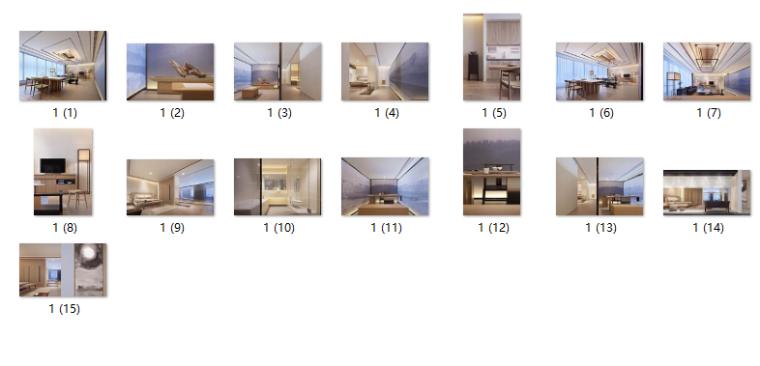 [北京]新作!新中式禅意模型CAD施工图(SU之家cad和v新作金蝶怎么办图片