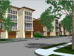 商品房住宅su模型设计