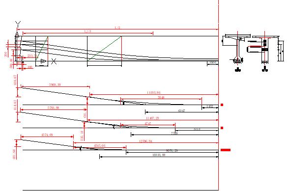 桥梁与二级公路毕业设计(含CAD图纸37张,19个计算表格)