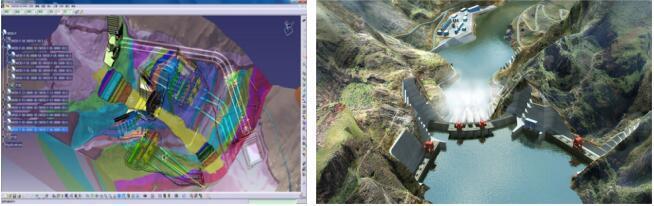 大型水电站枢纽工程BIM设计与应用(7套精品案例推荐)